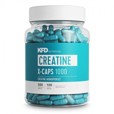 KFD Creatine X-CAPS 1000 - 500